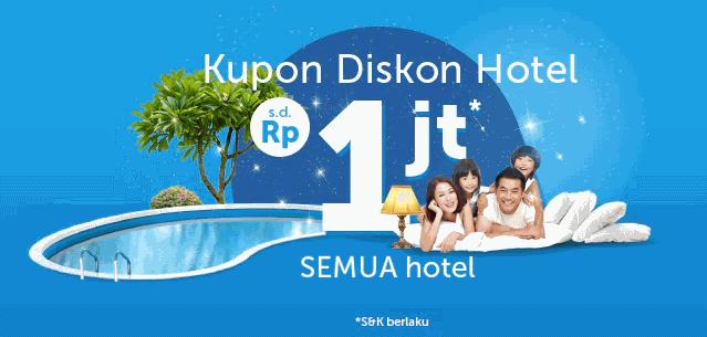 Kupon Diskon Hotel sampai 1 juta - Traveloka