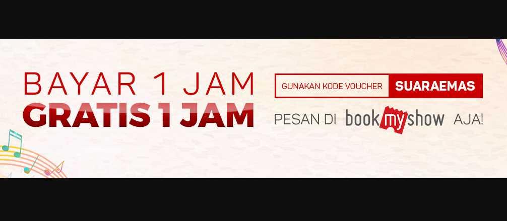 Diskon Bookmyshow Karaoke 2 Jam Bayar 1 Jam